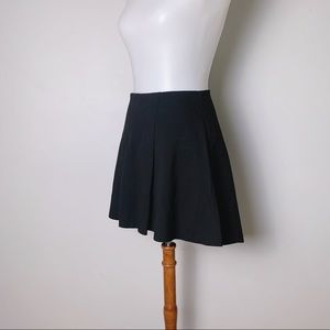 PARKER Ponte Hi-Low Mini Skater Skirt